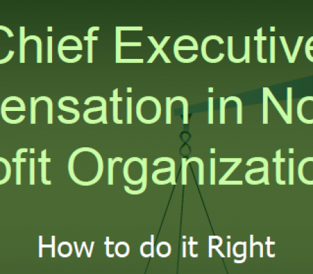 Chief Executive Compensation in Not-For-Profit Organizations